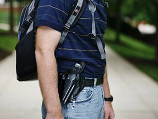 Bring Your Gun to Class – Soon students might be able to