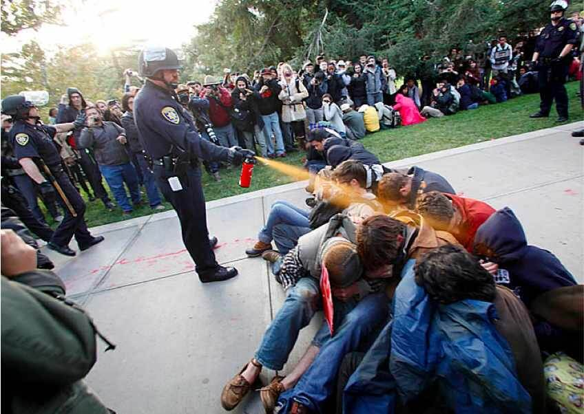 UC Davis Occupiers Abused By Police