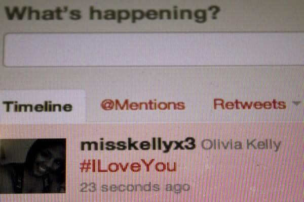 Hashtag: I Love You