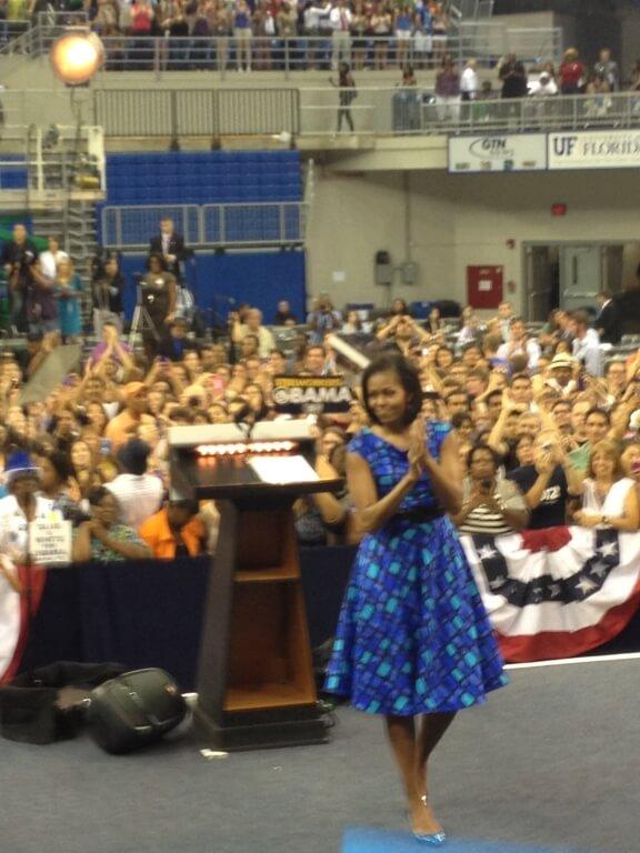 Michelle Obama Speaks at University of Florida