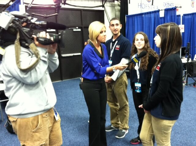 News 12 interviewed students.