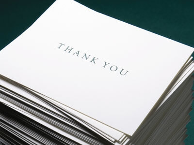 Dear CM, How Do I Write a Thank You Note?