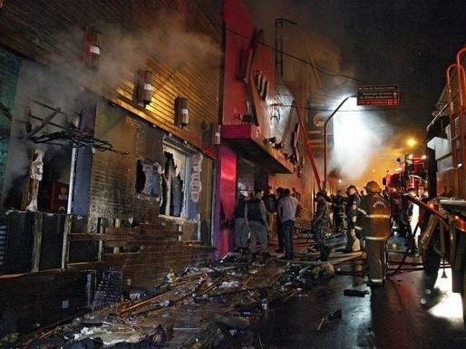 Multiple Deaths in Brazil Night Club Fire