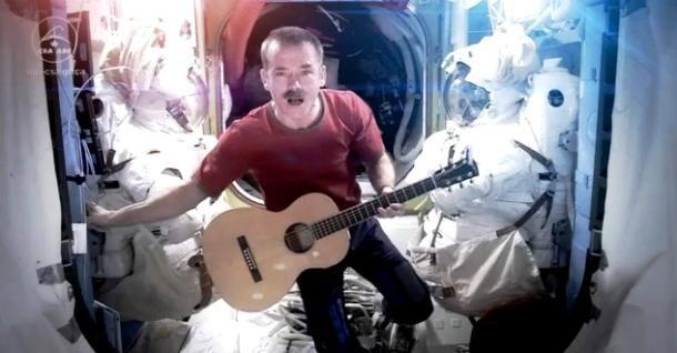 "Chris Hadfield's ""Space Oddity"" Space Odyssey"