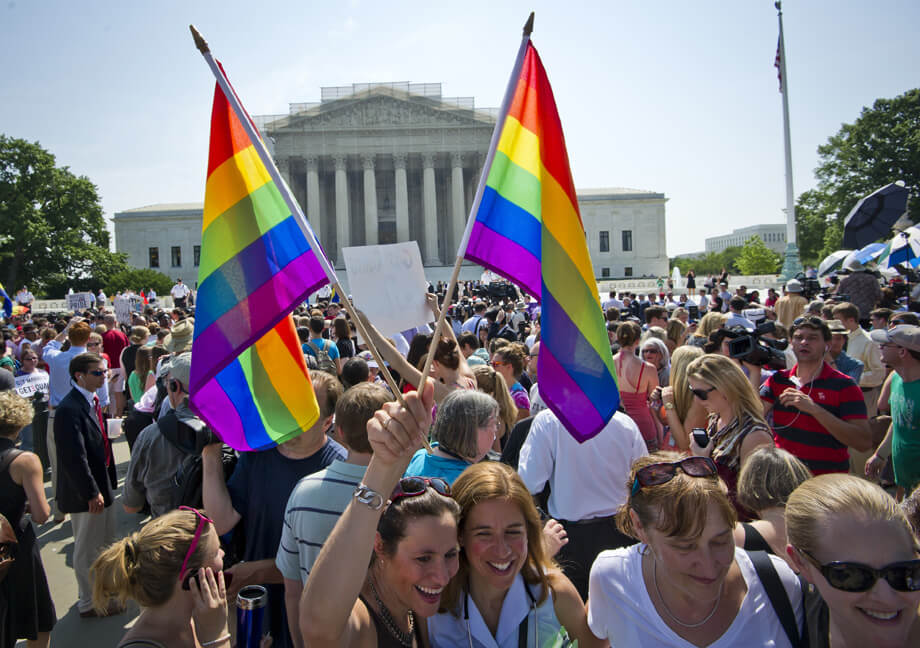 Federal law and same sex marriages