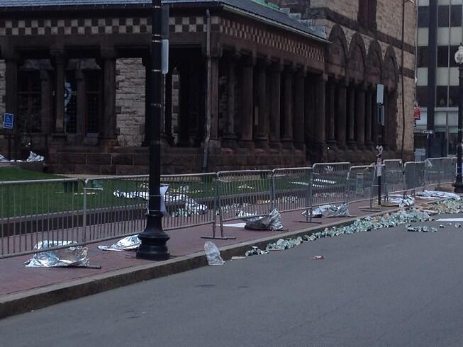 I Was at the Boston Marathon Bombing