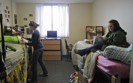 the dorm life at bowling green state university