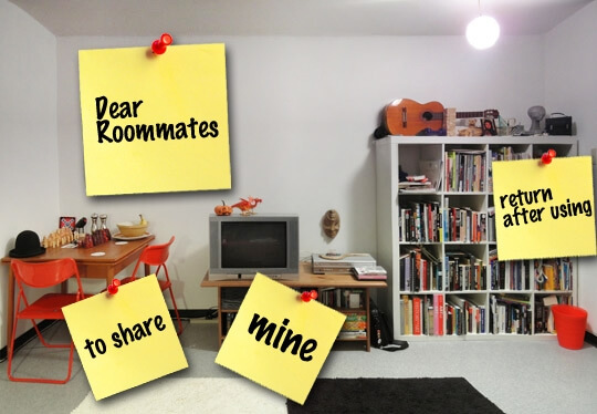 QUADBLOCKED: The Dos and Don'ts of Living with Multiple Roommates