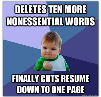 Restore Your Resume In 5 Easy Steps College Magazine