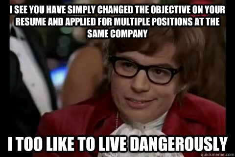 An Objective View on Your Resume Objective