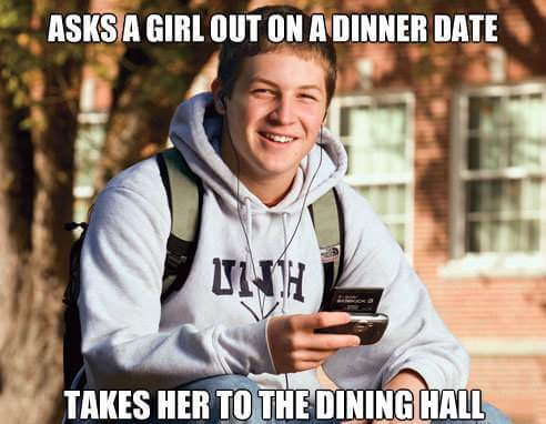 is it weird to date a freshman in college