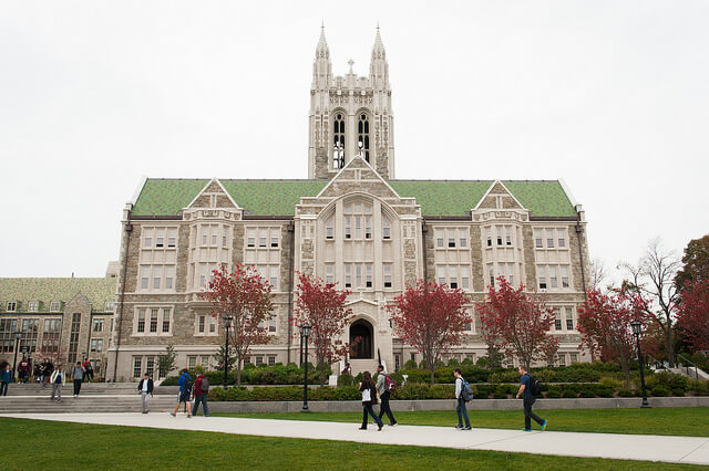 Boston College O'Neill Library bc dining