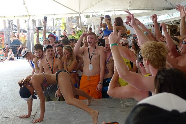 How University of Florida Students Crush Spring Break 2015