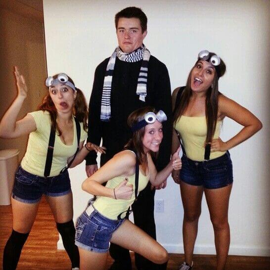 group costume halloween