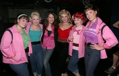 group costumes pink ladies