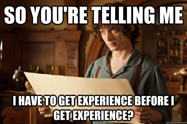 How To Get Experience Without Having Experience College