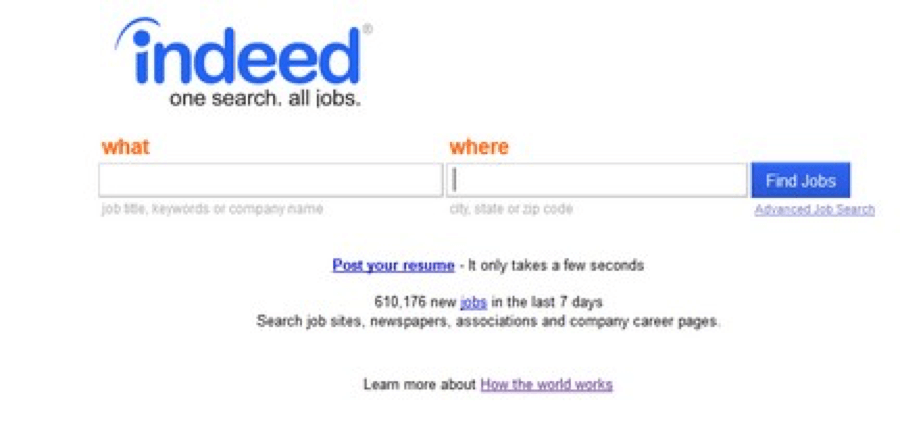 internship finder indeed.com