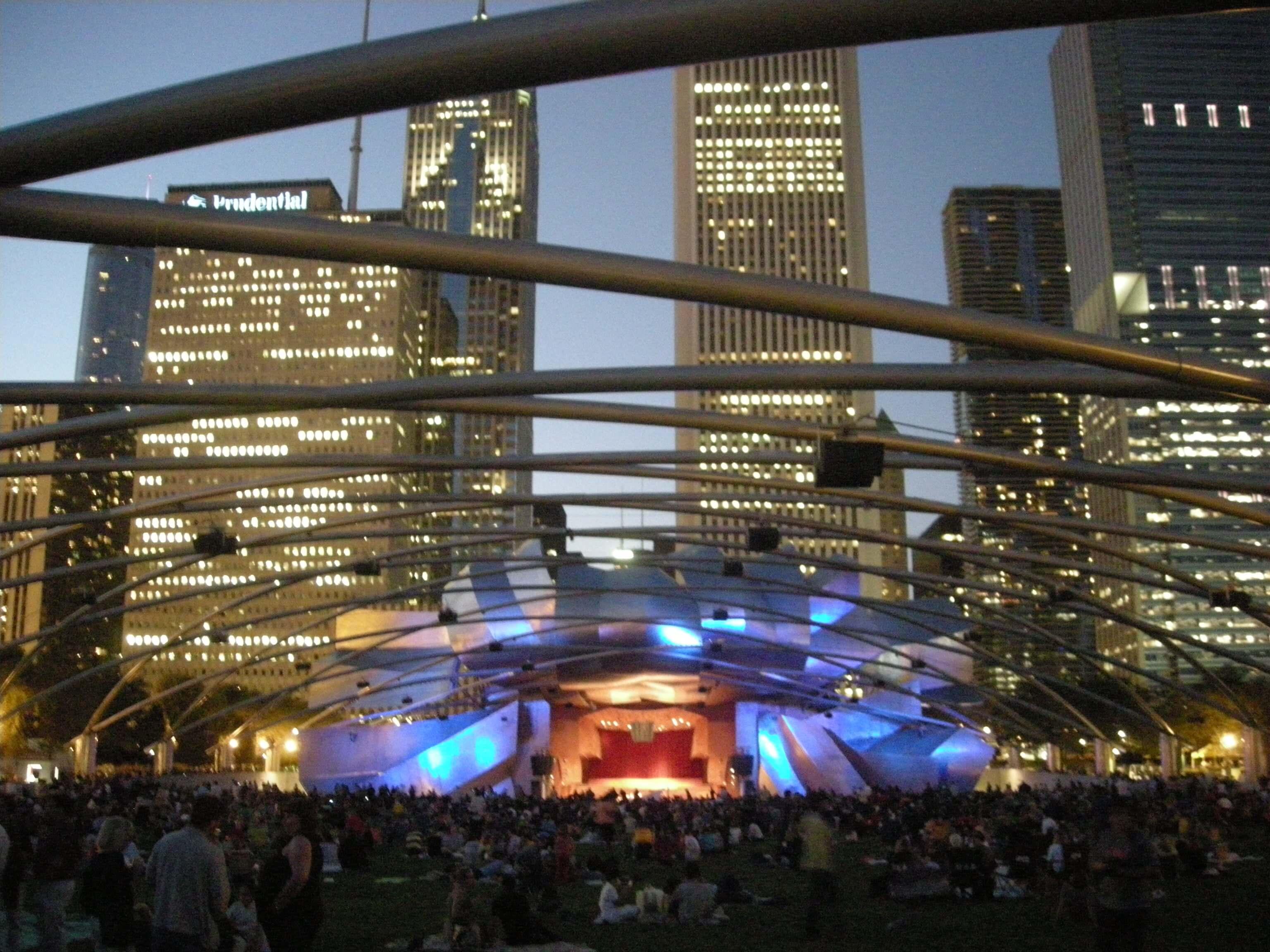 Millennium Park in Chicago, IL via wikimedia.org