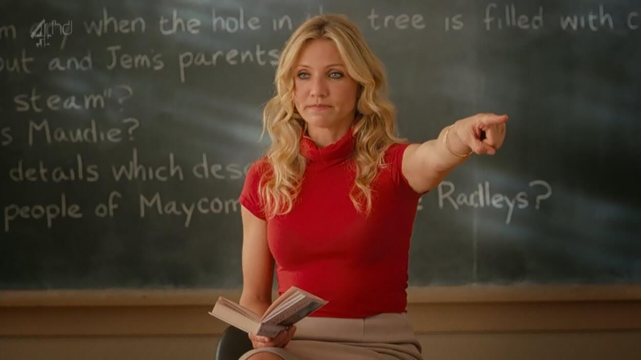 Teacher fucks student in class