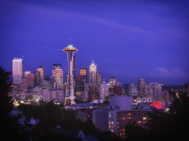 Seattle skyline via pixabay.com