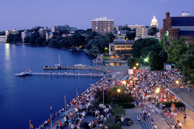 Top 10 campuses for the outdoor runner college magazine for Mendota terrace madison wi