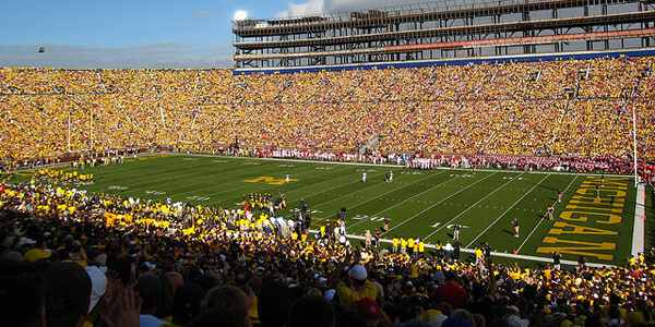 Michigan Stadium via Flickr