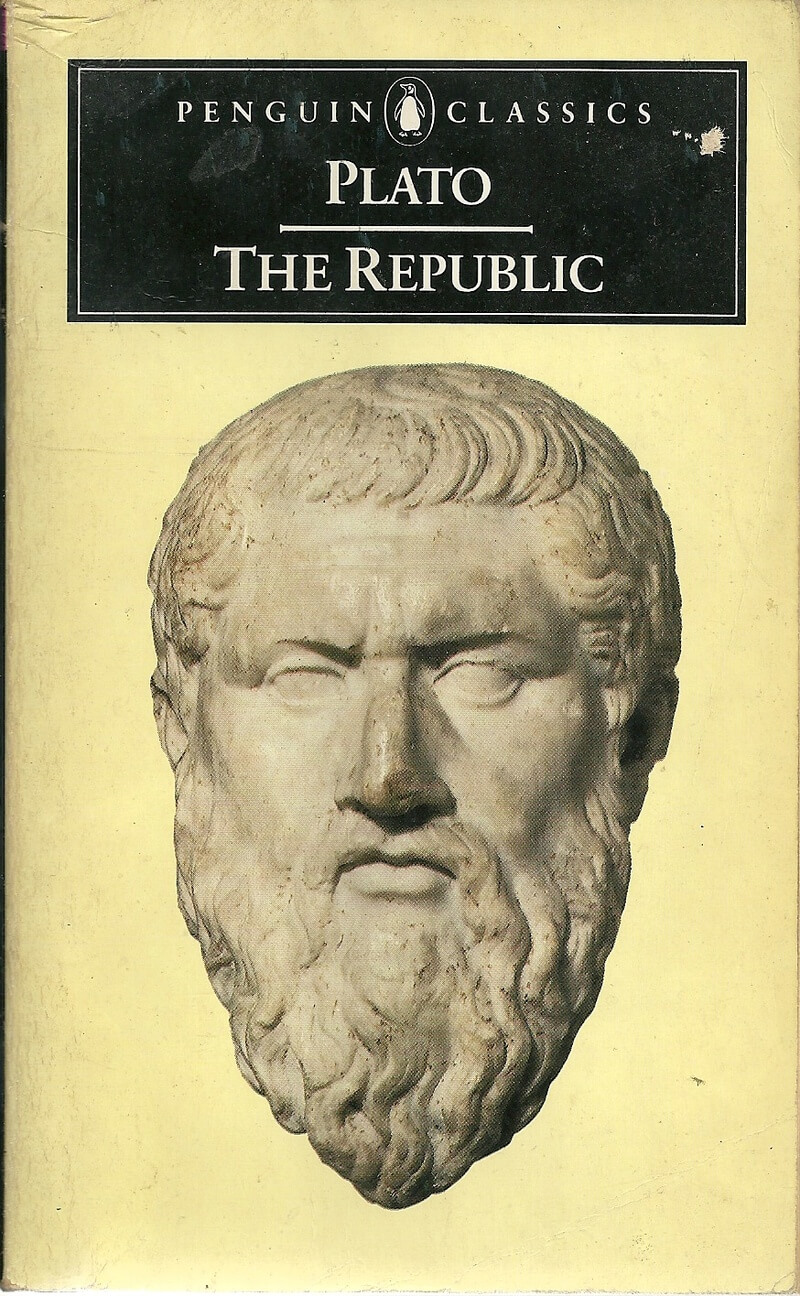the description of politics in platos novel the republic Plato's allegory of the cave, from the republic, book vii,  was preparing for a career in politics when the trial and eventual execution of socrates.