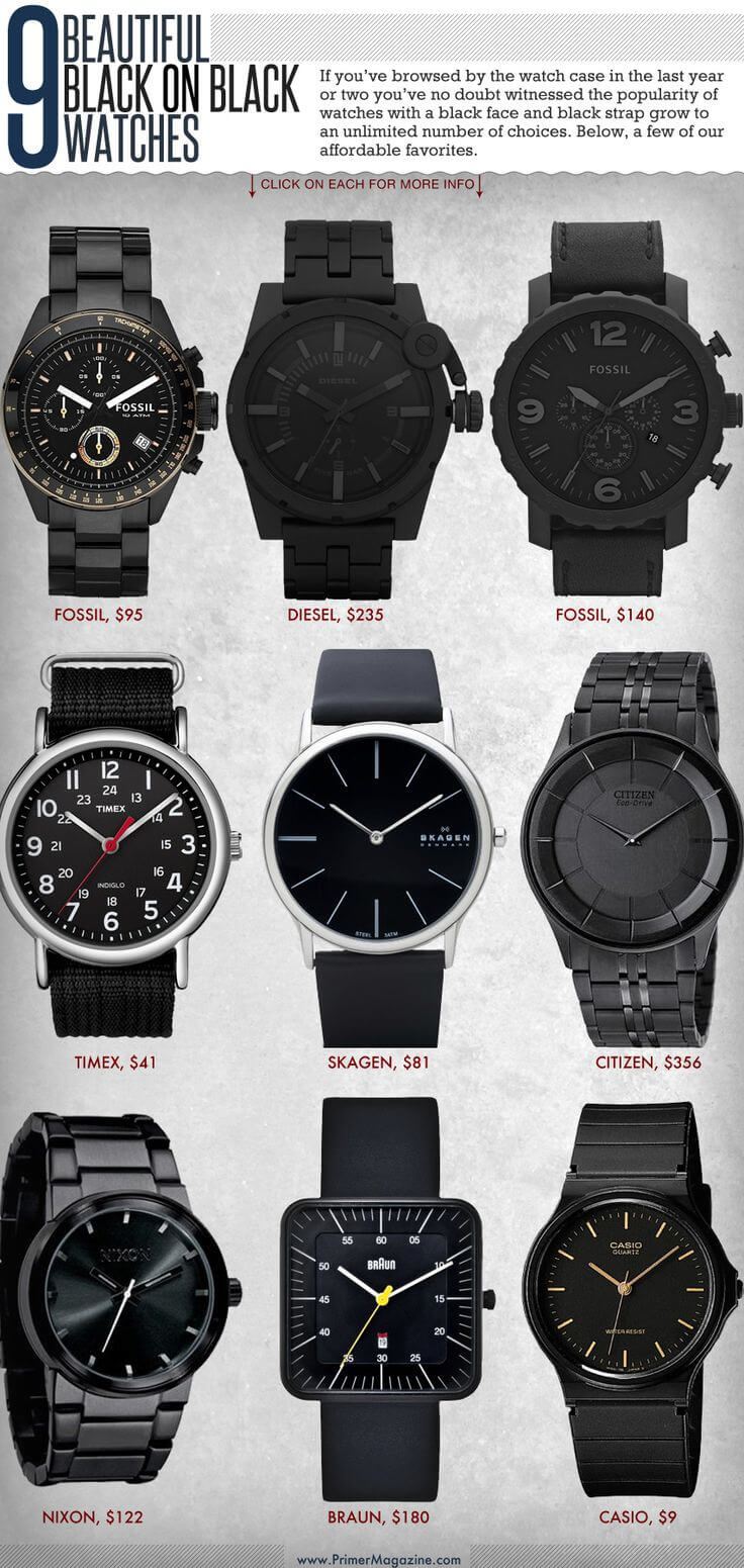Our favorite watches for sexy guys