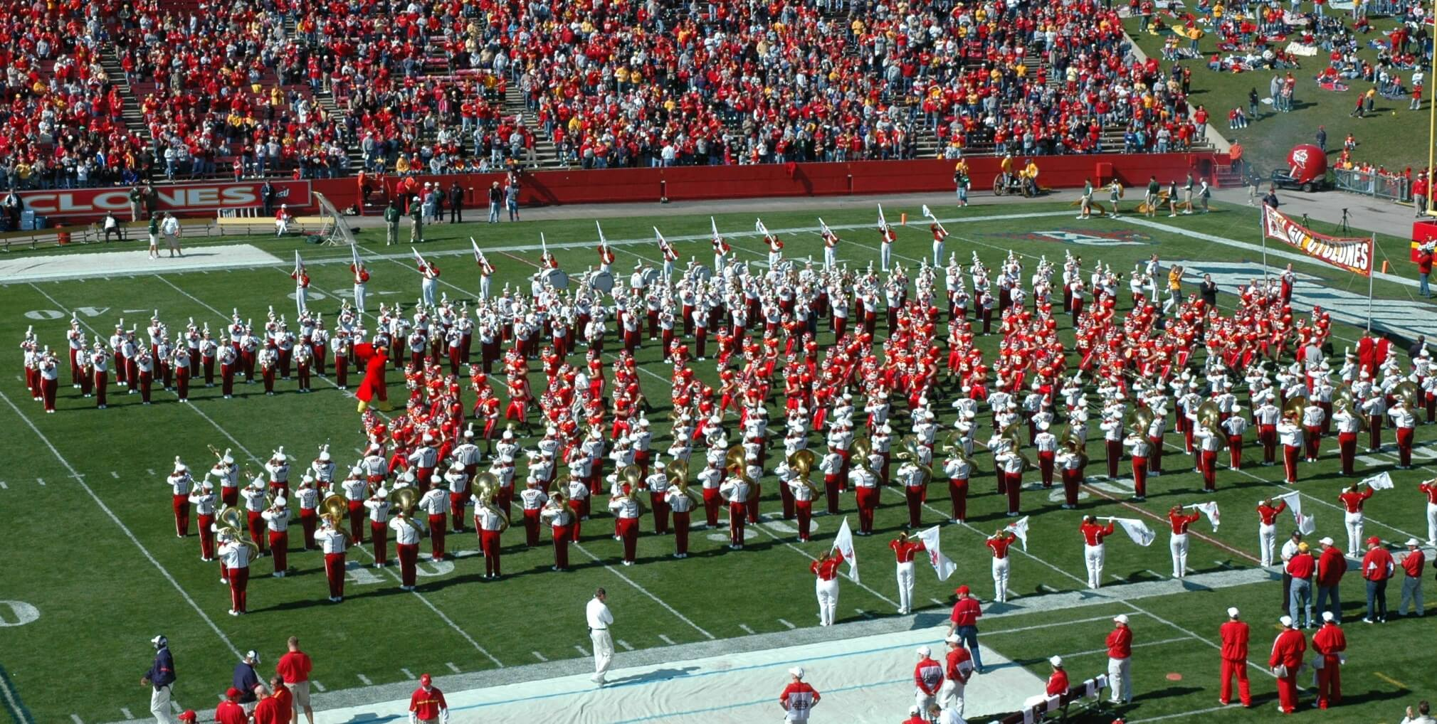 10 universities with badass marching band traditions