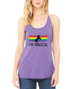 lgbt outfitters i'm magical tank top for your girlfriend