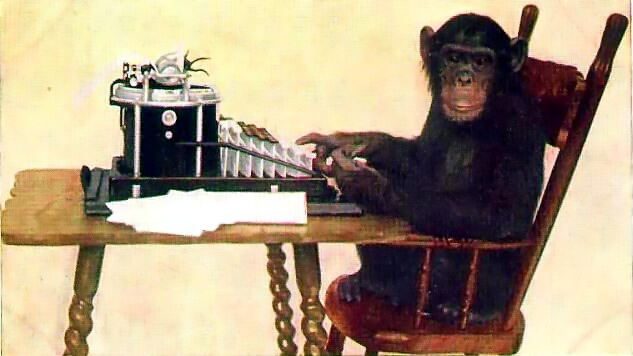 monkey on typewriter osu general education classes