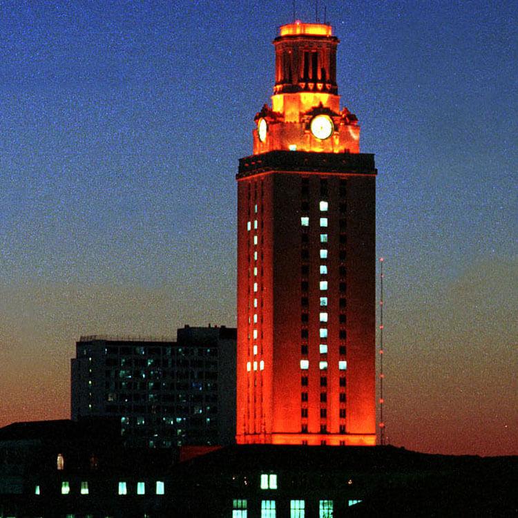 orange tower
