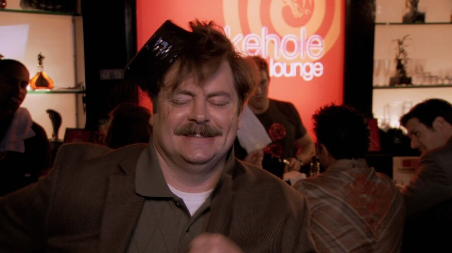 if um bars were parks and rec characters
