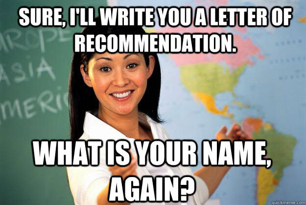Teacher S Pet Or Genius Your Guide To Getting A Letter Of