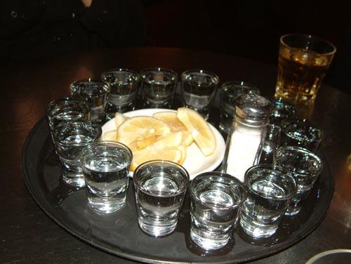 One Shot Two Shot Three Shot Floor How Tequila Ruined