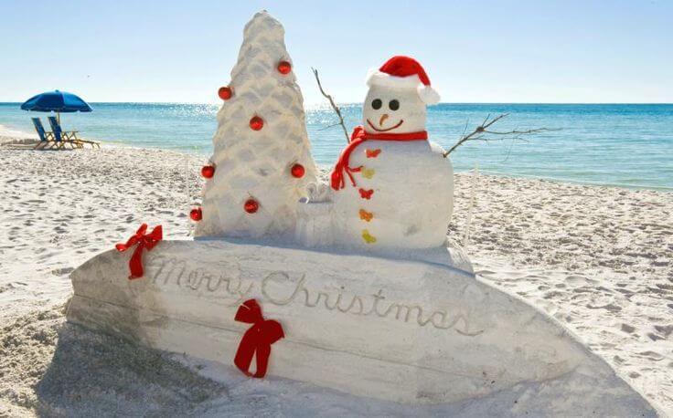 Tis The Season To Hit The Beach Celebrating The Holidays