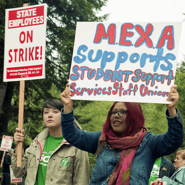 US-WA-EvergreenStateCollege-WorkersStrike-2013-5-28-42