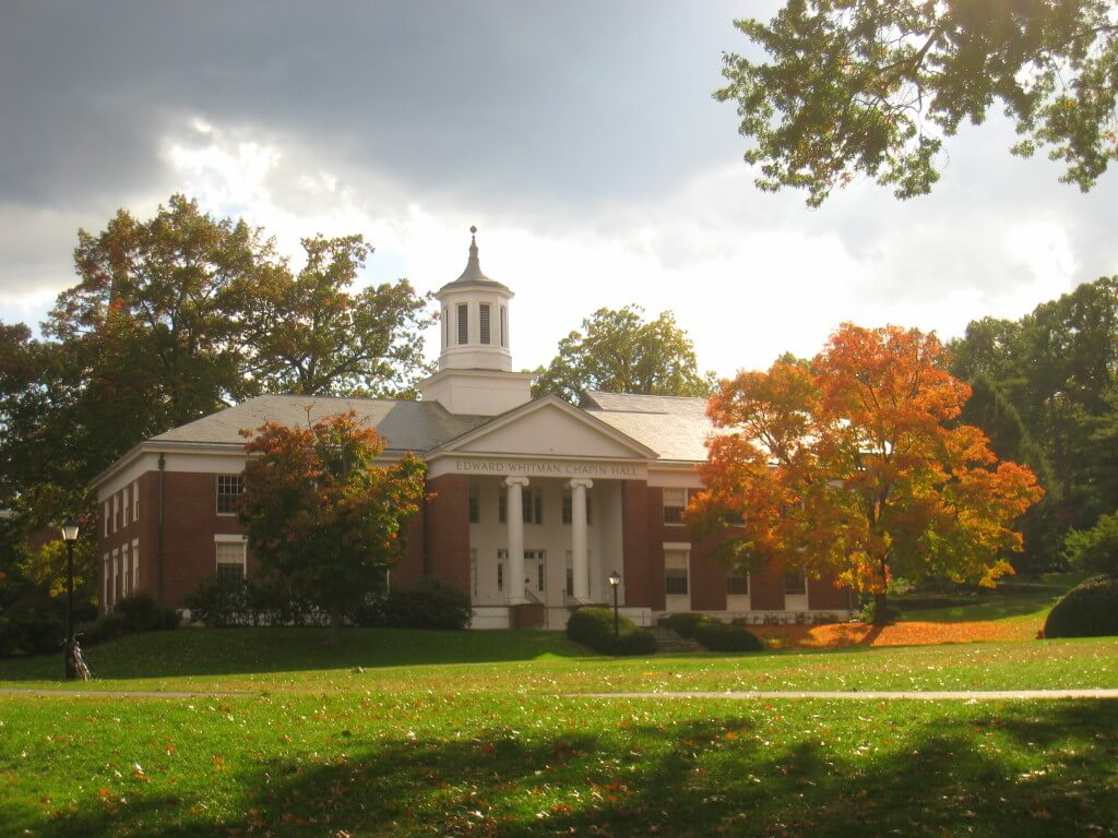 Amherst College is a good school for people who don't want to be in greek life