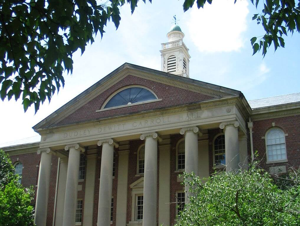 UNC_-_Carroll_Hall