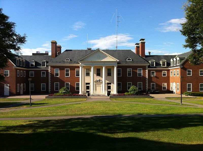 Colby college is great if you're not interested in greek life