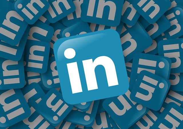 Linkedin social media logo