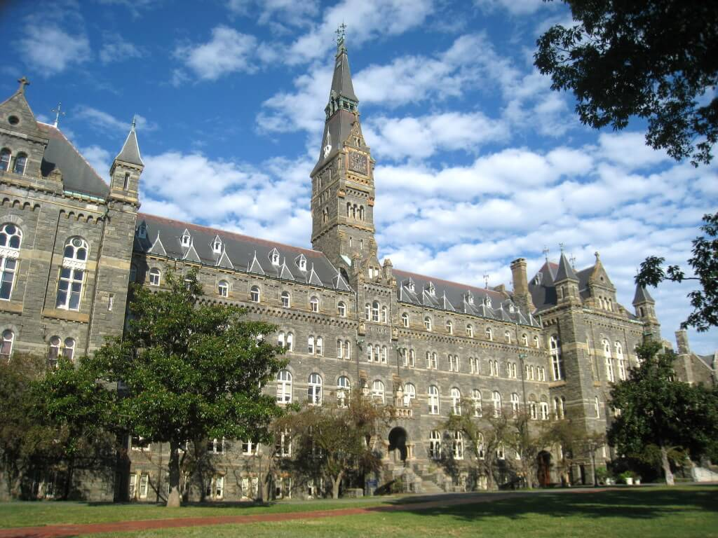 georgetown university doesn't focus only on greek life