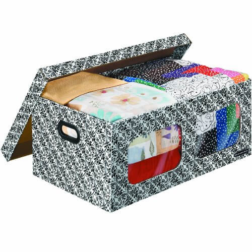 bankers box underbed storage box