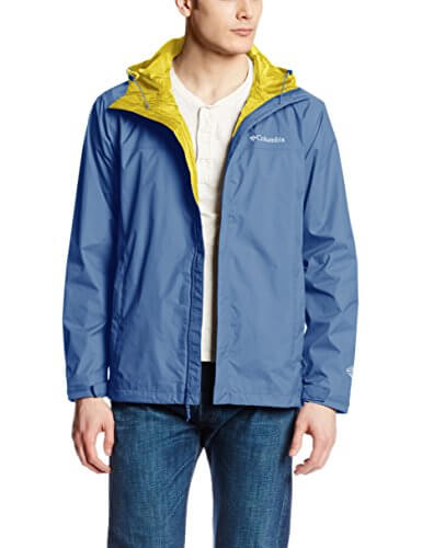 Columbia Men's Watertight II Front-Zip Hooded Rain Jacket ...