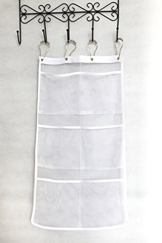 Bathroom Accessories Organizer quick dry hanging caddy and bath organizer with 6-pocket, hang on
