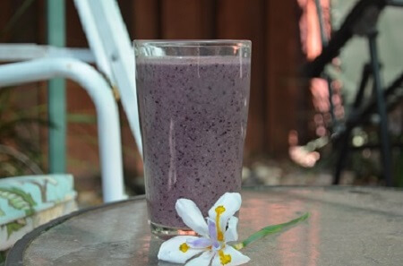 "There's something inherently wrong about drinking a purple ""Green Smoothie,"" but it tastes oh so good - Natalie DaRe"