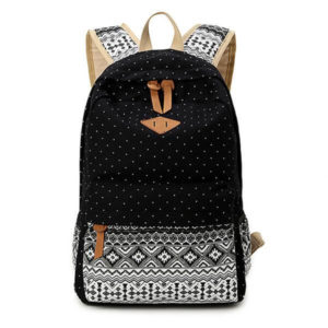 Trendy tribe print backpack gift for your girlfriend