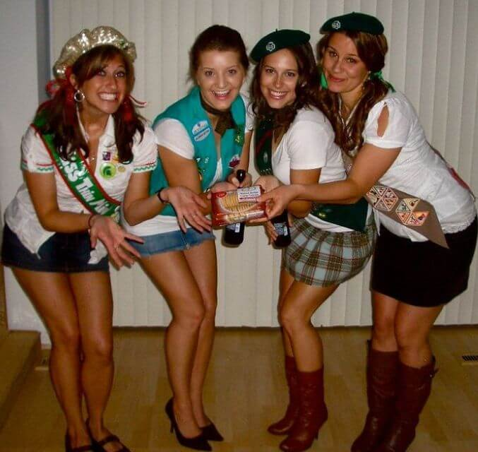 Girl Scouts. pinterest.com  sc 1 st  College Magazine & 10 Halloween Costumes for the Whole Squad - College Magazine