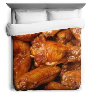 buffalo wings duvet