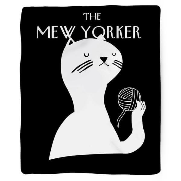mew yorker blanket